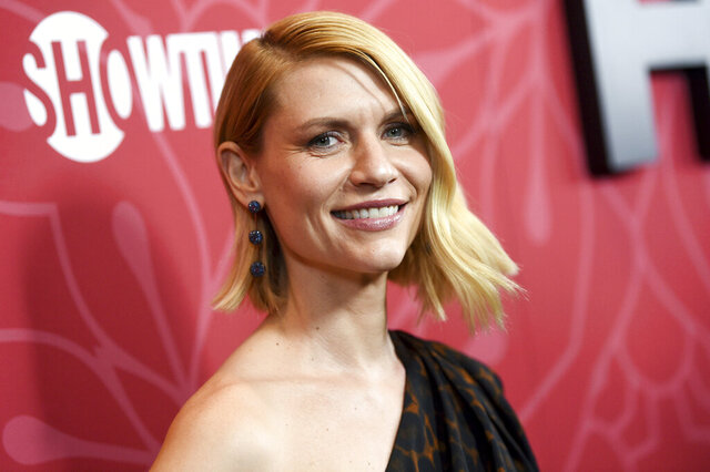 Actress Claire Danes attends Showtime's