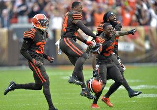 APTOPIX Ravens Browns Football