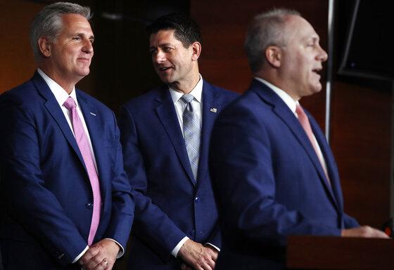 Paul Ryan, Kevin McCarthy, Steve Scalise