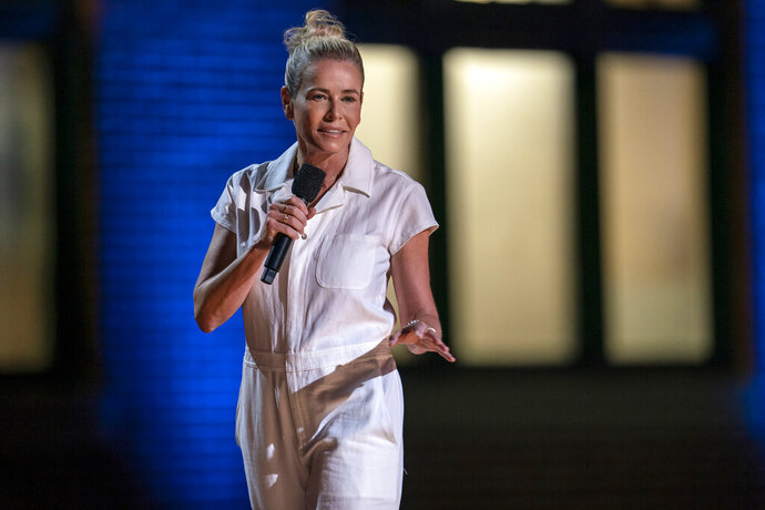 This image released by HBO Max shows Chelsea Hander during her comedy special