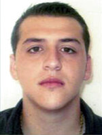 This undated photo released by the U.S. Attorney's Office Central District of California shows Alonso Jaime Gastelum-Salazar. An indictment unsealed Thursday, Sept. 13, 2018, was unique in targeting people throughout the drug distribution chain from the source of where the coke was produced in Colombia to investors in Mexico, transportation coordinators, houses where the drugs were stashed and to large scale distributors in the U.S., federal prosecutors said. Gastelum-Salazar, and his fugitive father, Angel Humberto Gastelum-Salazar are charged in the indictment with two counts of murder in Mexico. (U.S. Attorney's Office Central District Of California via AP)