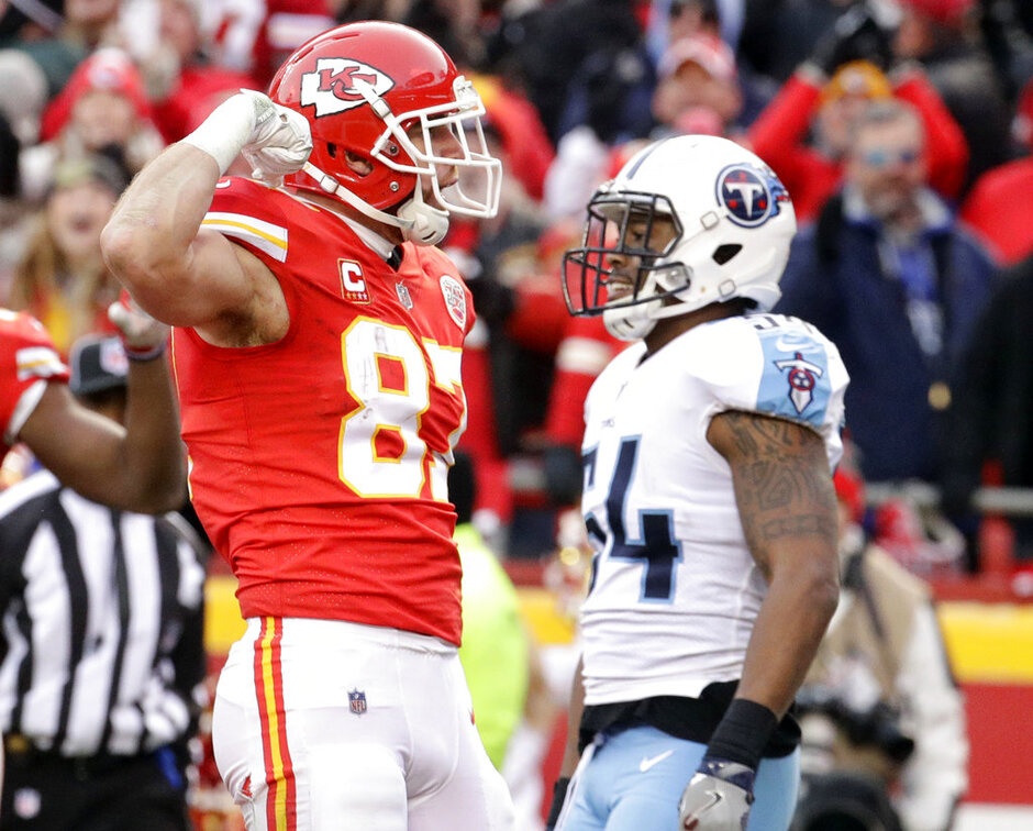 Travis Kelce, Avery Williamson