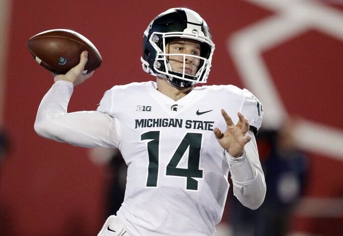 Lewerke on the spot against Michigan's tough defense