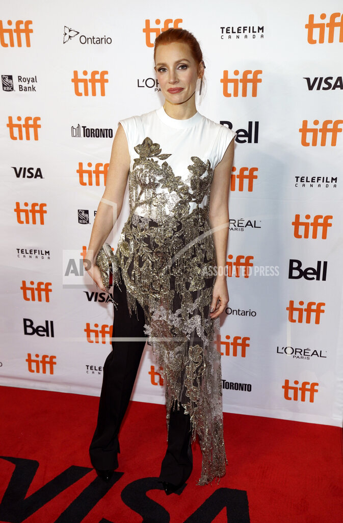 "2021 TIFF - ""The Eyes of Tammy Faye"" Premiere"