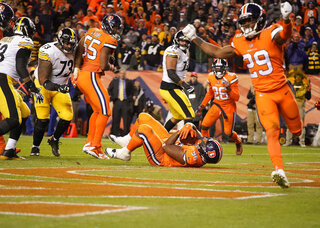 Steelers Broncos Football