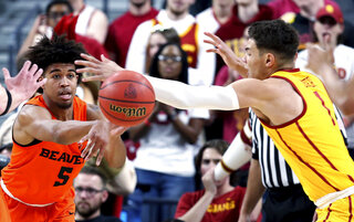 P12 Oregon St USC Basketball