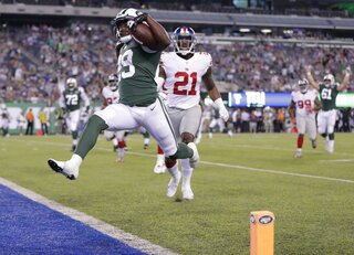 APTOPIX Giants Jets Football