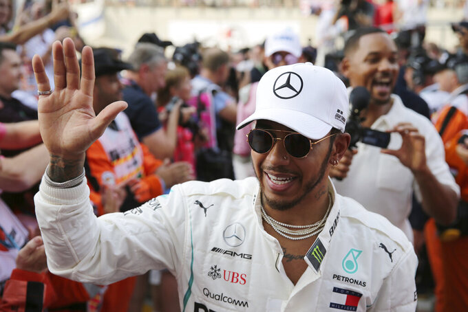 Hamilton still full of drive as he chases 6th F1 world title