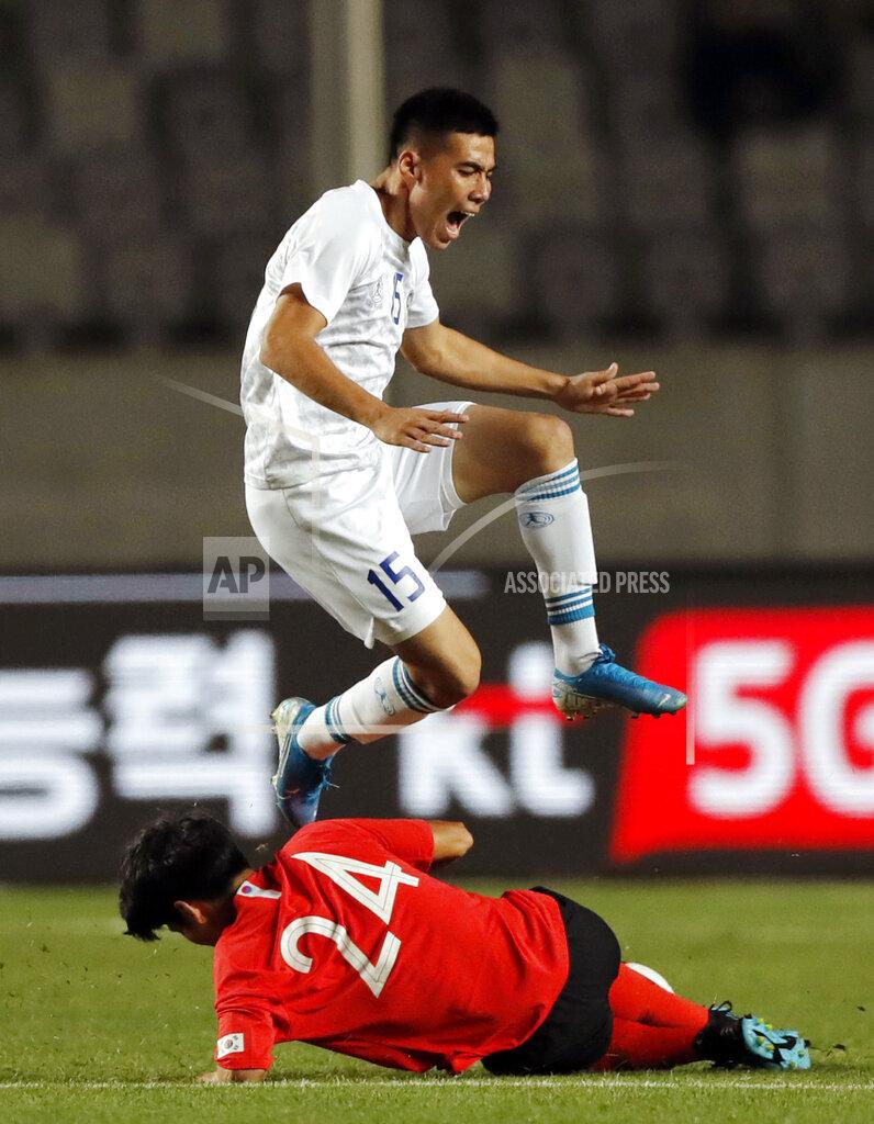 South Korea Uzbekistan Soccer
