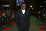 FILE - Idris Elba arrives at the premiere of