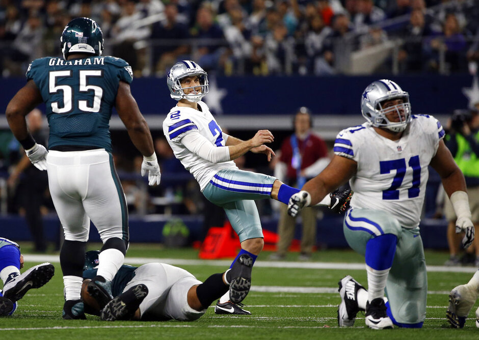 Brandon Graham La'el Collins, Mike Nugent