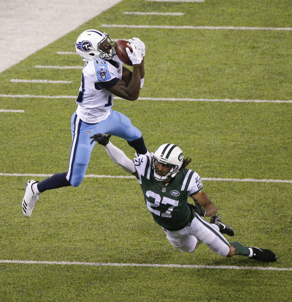 APTOPIX Titans Jets Football