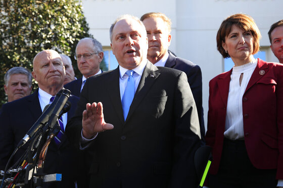Steve Scalise, Kevin Brady, Cathy McMorris Rodgers