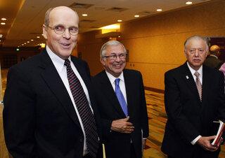 Bill Hancock, Charles Steger, John Peters
