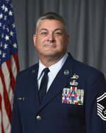 This undated photo provided by the Tennessee Air National Guard shows Senior Master Sgt. Scott Bumpus. Three people killed in a small plane crash near a Tennessee airport were Air National Guard members, officials said Wednesday, Sept. 9, 2020. Killed in the crash were Lt. Col. Shelli Huether, Capt. Jessica Wright, and Senior Master Sgt. Scott Bumpus, the guard said in a news release. (Tennessee Air National Guard via AP)