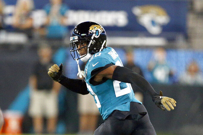Cornerback Ramsey rejoins Jaguars, makes trip to Denver