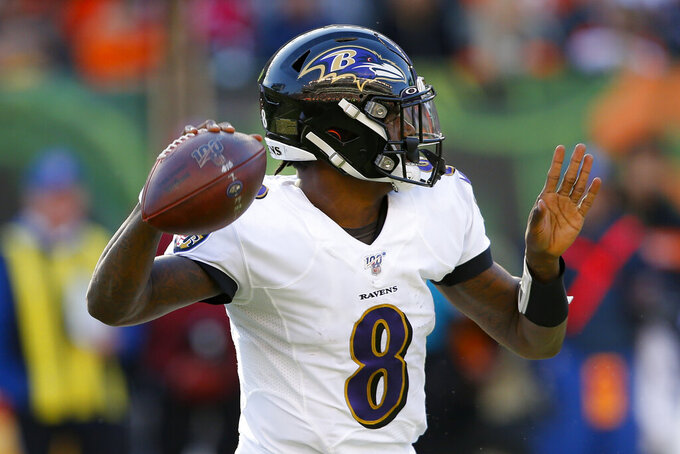 Ravens grab top spot in AP Pro32 poll; Patriots are No. 2