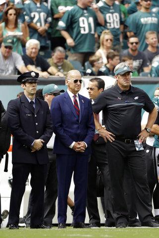 Joe Biden, Doug Pederson