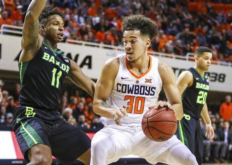 Baylor Oklahoma St Basketball