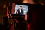 University of Tennessee's new Director of Athletics Danny White speaks during a press conference announcing his hiring in Knoxville, Tenn., Friday, Jan. 22, 2021. (Caitie McMekin/Knoxville News Sentinel via AP, Pool)