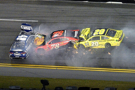 Jimmie Johnson, Martin Truex Jr., Matt Kenseth