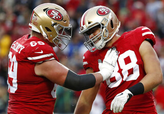 49ers McGlinchey Football