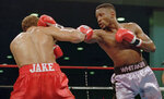 FILE - In this Nov. 18, 1995, file photo, WBC welterweight champion Pernell
