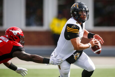 CFL Tiger Cats Stampeders Football