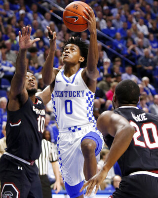 De'Aaron Fox, Duane Notice, Justin McKie