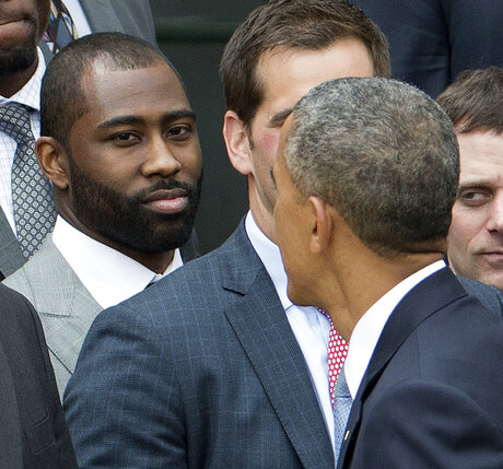 Barack Obama, Darrelle Revis