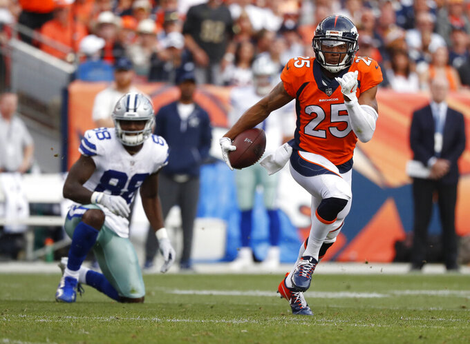 Chris Harris Jr. skips start of Broncos offseason program