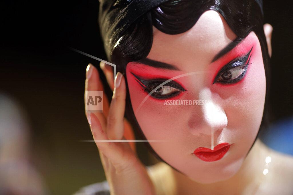 APTOPIX China Beijing Opera