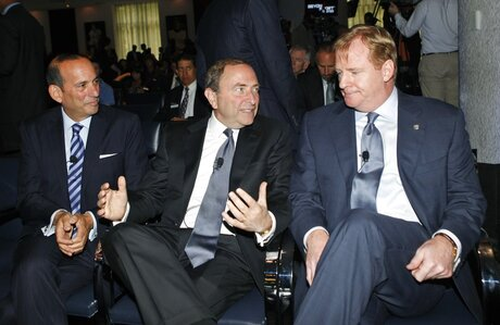 Don Garber, Gary Bettman, Roger Goodell
