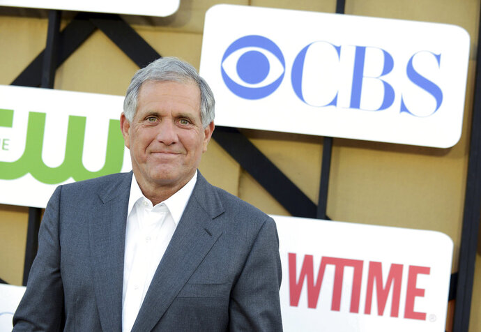 FILE - In this July 29, 2013, file photo, Les Moonves arrives at the CBS, CW and Showtime TCA party at The Beverly Hilton in Beverly Hills, Calif. CBS says it has been subpoenaed by a New York City prosecutor for information related to sexual misconduct allegations against its former chairman, Moonves. CBS said in regulatory filing with the Securities and Exchange Commission on Friday, Sept. 28, 2018, that it received subpoenas from the Manhattan District Attorney and New York City's Commission on Human Rights. (Photo by Jordan Strauss/Invision/AP, File)