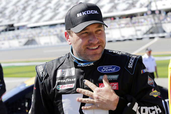 Roush Fenway signs 12-race sponsorship deal for Ryan Newman