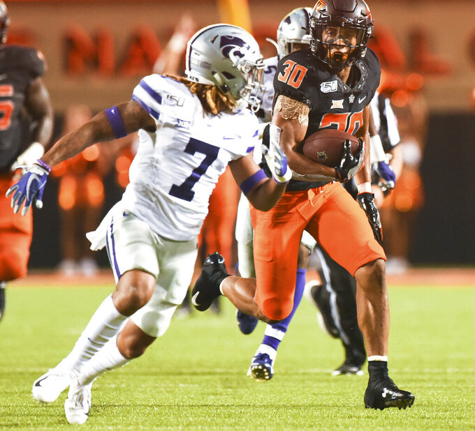 STAT WATCH: Hubbard's torrid run continues for Oklahoma St.