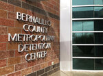 This March 12, 2019, photo shows the Metropolitan Detention Center of Bernalillo County outside of Albuquerque, N.M. The jail has come under criticism after it was revealed late last month that its records department was allowing federal immigration authorities to access its inmate database. (AP Photo/Russell Contreras)