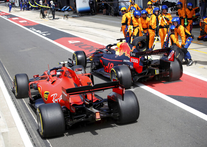 Bigger tires in store for Formula One