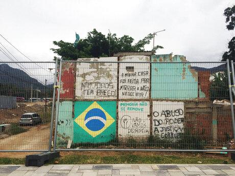 Rio Olympics Slum Residents