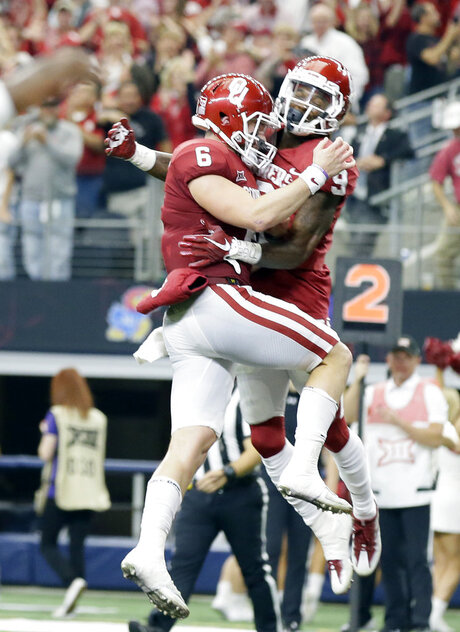 Baker Mayfield, CeeDee Lamb,