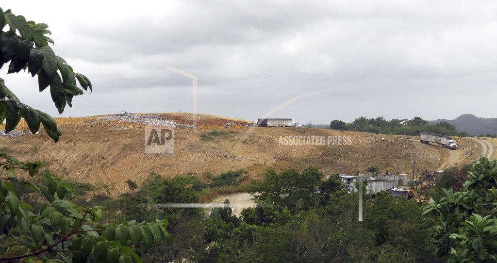 Puerto Rico Overflowing Landfills