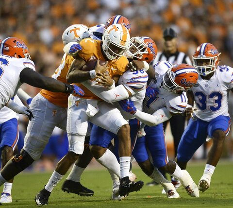Tennessee vs Flordia