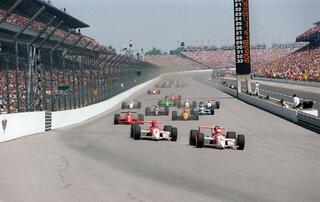 Indy 500 1994 Countdown Race 78 Auto Racing