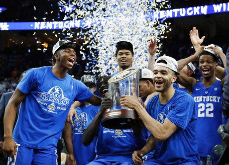SEC Kentucky Tennessee Basketball