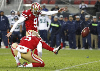 Seahawks 49ers Football