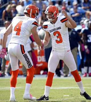 Cody Parkey, Britton Colquitt
