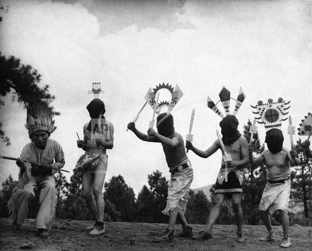 Watchf AP A  AZ USA APHS326336 Native Americans 1937