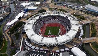 london olympics, aerial