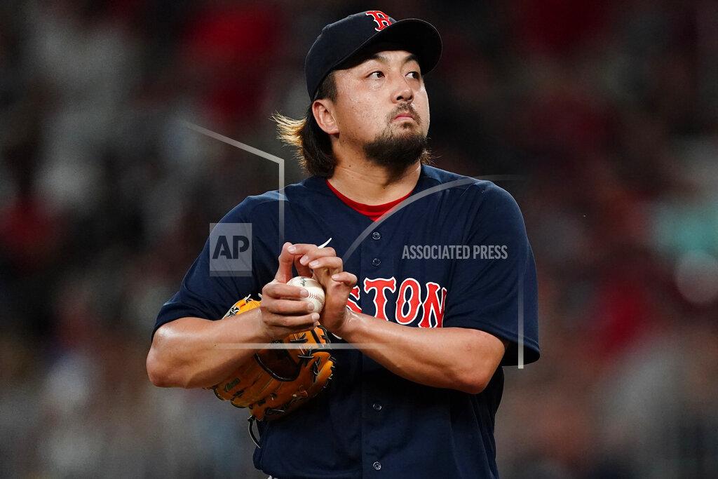 Red Sox Braves Baseball