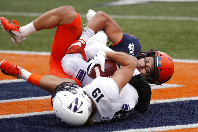 Northwestern upsets rival Illinois 29-10